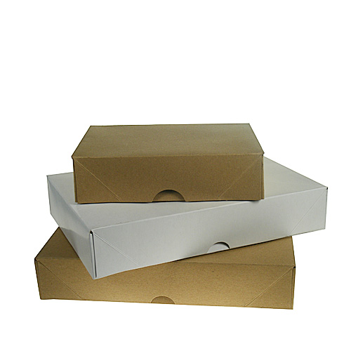 White A4 White Ream Boxes - 305x216x57mm - pk50