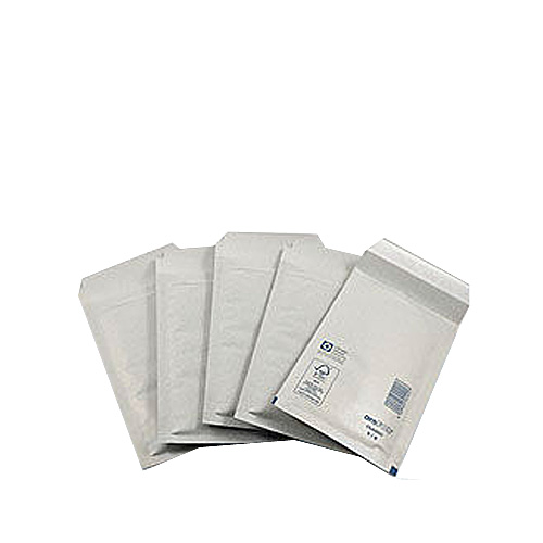 White Standard Bubble Lined Mailers - 115x215mm - pk200