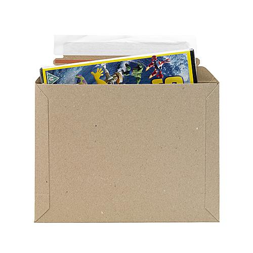 Brown Postal Envelopes PE1 - 234x175x0-30mm - pk50