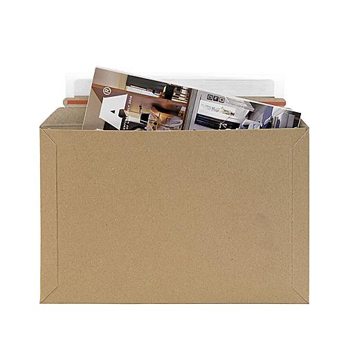 Brown Postal Envelopes PE2 - 290x190x0-30mm - pk50