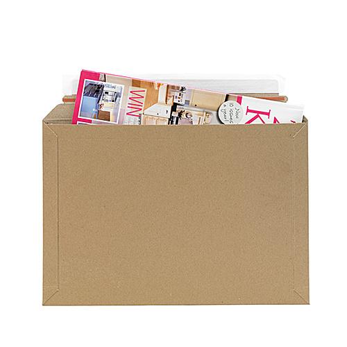 Brown Postal Envelopes PE3 - 330x230x0-30mm - pk50