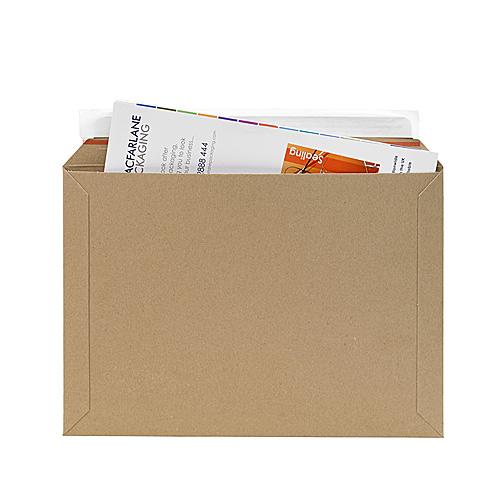 Brown Postal Envelopes PE4 - 350x245x0-30mm - pk50