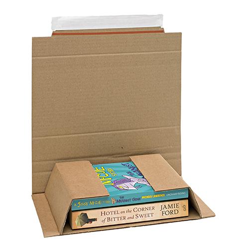 Brown Postal Wrap - PW1 - 236x158x0-60mm - pk25