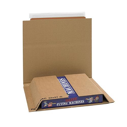 Brown Postal Wrap - PW5 - 333x270x0-50mm - pk25