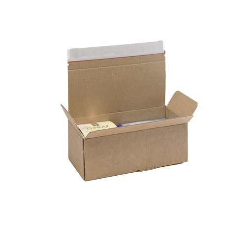 Brown Postal Box - PB4 - 202x96x78mm - pk50