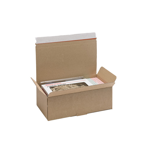 Brown Postal Box - PB5 - 252x136x88mm - pk50