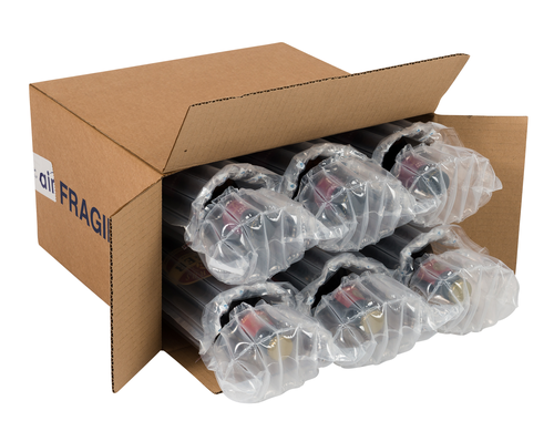 **NEW** AirSac Inflatable Cushioning - Six Beer Bottle Kit - pk25