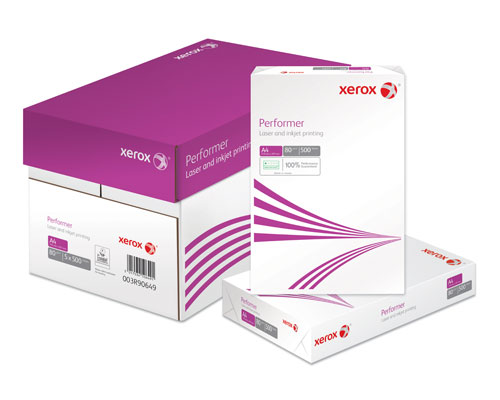 Xerox Performer Paper - A4 - White - 80gsm - C Quality - Box of 5 reams (2500 sheets)