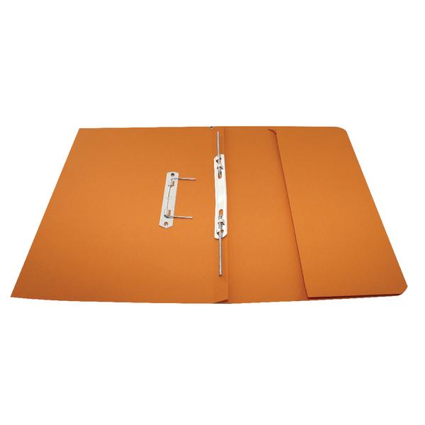 Rexel Jiffex Pocket Transfer File Foolscap Orange (Pack of 25) 43316EAST