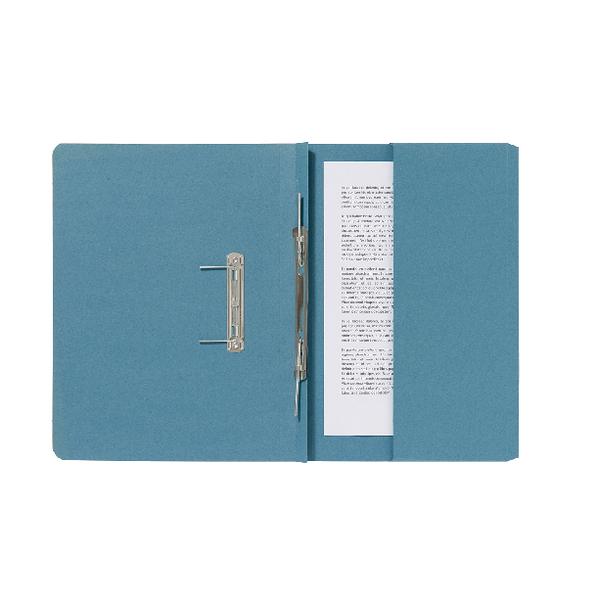Guildhall Pocket Spiral File 285gsm Blue (Pack of 25) 347-BLUZ