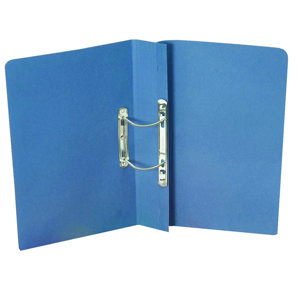 Guildhall Heavyweight Transfer Spiral File 420gsm Foolscap Blue (Pack of 25) 211/7000