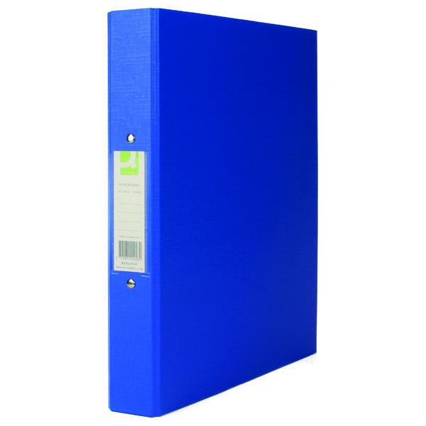 Q-Connect 25mm 2 Ring Binder Polypropylene A4 Blue (Pack of 10) KF02003