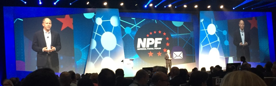 Roger Pilc, Chief Innovation Officer of Pitney Bowes at NPF