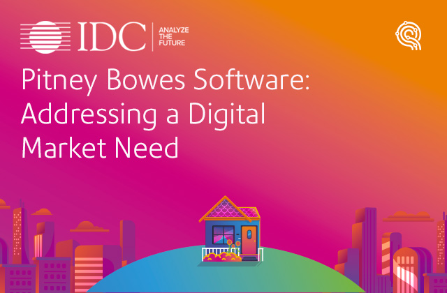 Pitney Bowes Software: Addressing a Digital Market Need