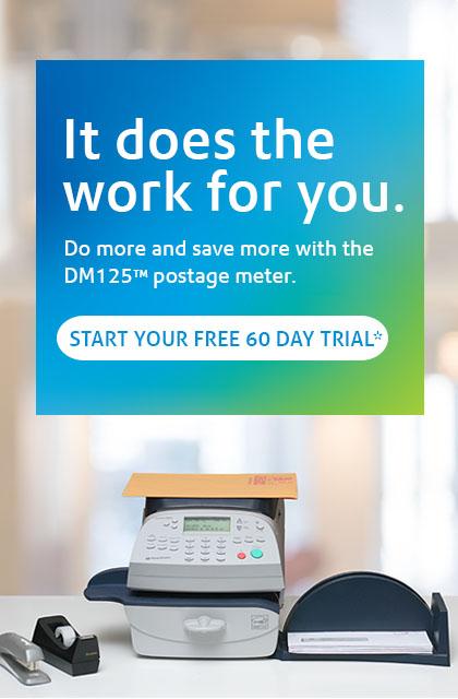 DM125 Postage Meter | Pitney Bowes