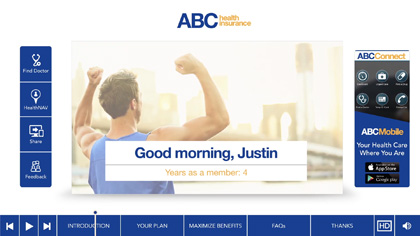 ABC Health Insurance EngageOne Video