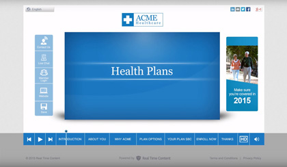 ACME Healthcare EngageOne Video