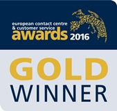 European Contact Center & Customer Service Awards logo