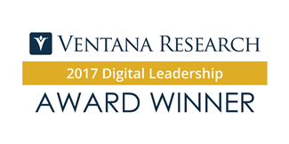 Ventana Research 2017 award winner