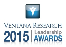 Ventana Research 2015 Leadership Awards logo