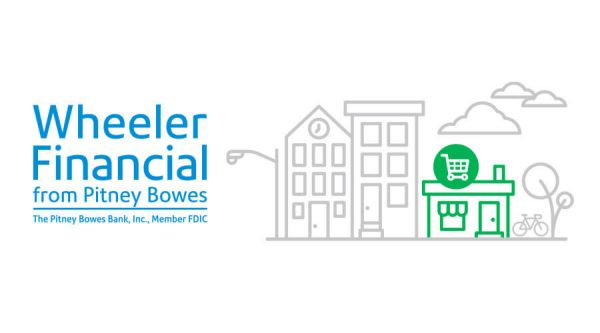 Wheeler Financial wordmark with main street graphic