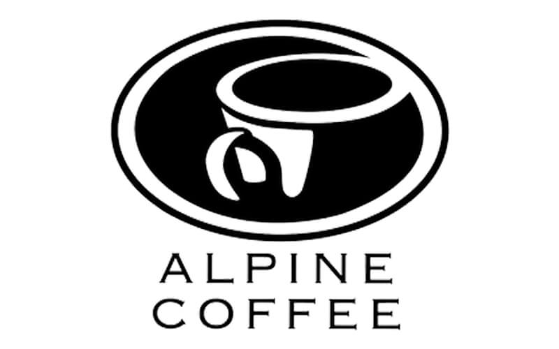 Alpine coffee logo