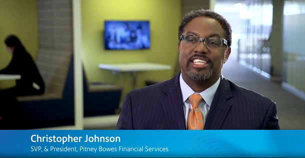 Christopher Johnson SVP, & President, Pitney Bowes Financial Services