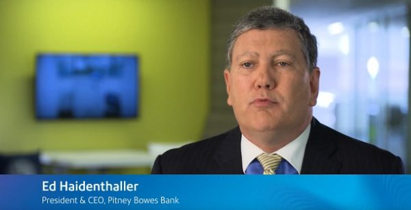 Ed Haidenthaller President & CEO Pitney Bowes Bank