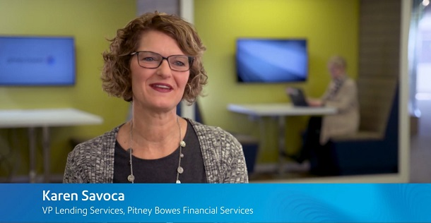 Karen Savoca, VP Lending Services, Pitney Bowes Financial Services