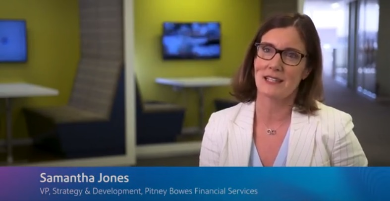 Samantha Jones, VP, Strategy & Development, Pitney Bowes Financial Services