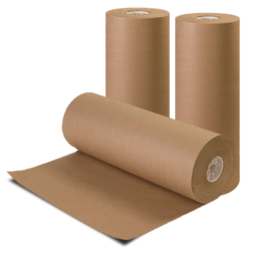 Brown Recycled Kraft Paper Roll - 24