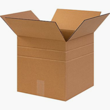 "Multi-Depth Brown Corrugated Shipping Boxes - 11-1/4""x8-3/4""x12"" - 25pk"