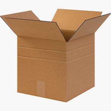 Multi-Depth Brown Corrugated Shipping Boxes - 11-14€x8-34€x12€ - 25pk