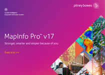 Pitney Bowes MapInfo Professional 15.2 buy online