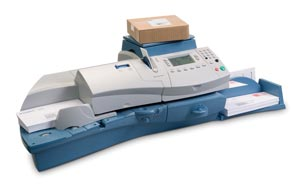 how to clean a pitney bowes postage meter