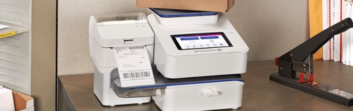 Postage meter for business mailing