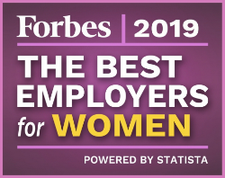 Forbes Best Employers for Women 2019