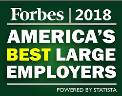 Forbes America's Best Large Employers 2018