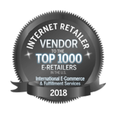 International Ecommerce and Fulfillment Services by the Internet Retailer Top 1000
