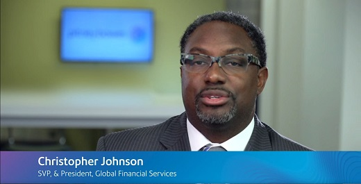 Christopher Johnson, President, Global Financial Services