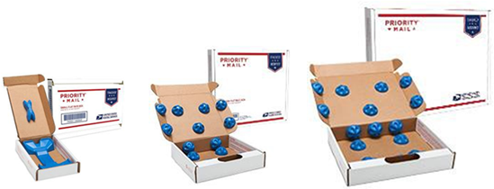 usps unveils priority mail flat rate precious cargo boxes. Black Bedroom Furniture Sets. Home Design Ideas