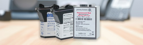 Postage meter ink supply