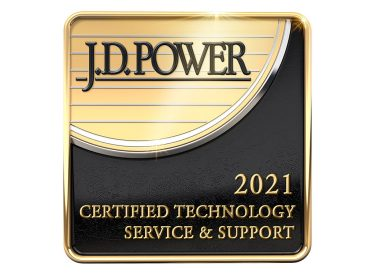 J.D.Power certified assisted technical support 2020