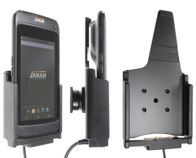 Handheld scanner mounted docking station - optional accessory