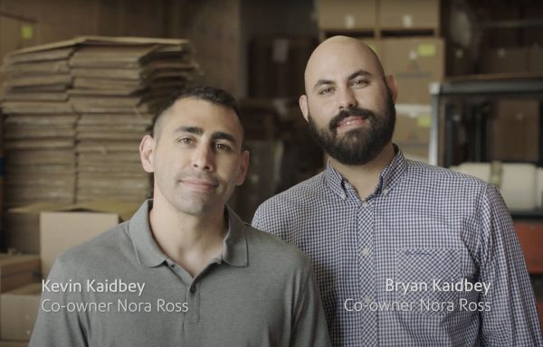 Kevin Kaidbey and Bryan Kaidbey, co-owners Nora Ross