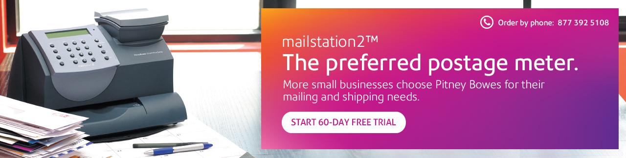 Mailstation 2 The Preferred Postage Meter