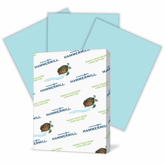 Blue Hammermill Fore Multi Purpose Paper - 8.5x11