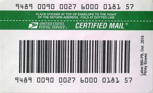 Item #USPS889-PB USPS IM®pb Compliant Signature Confirmation Labels – No  Insurance (50 labels/pack)
