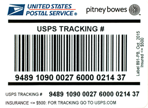 USPS IM®pb Compliant Signature Confirmation Labels –Insurance less than $500 (50 labels/pack)