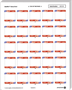 Stamp Postage Sheets